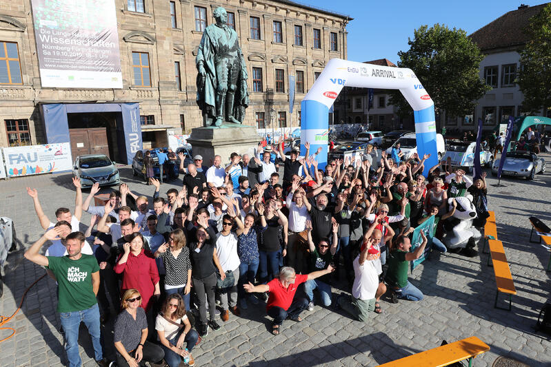 WAVE Germany 2019 – Gruppenbild in Erlangen am Ziel